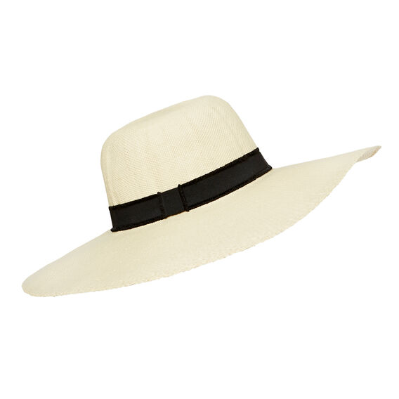 Wide Brim Summer Hat  CREAM  hi-res