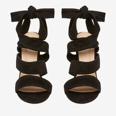 Nina Tie Up Heel  BLACK  hi-res