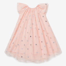 Winged Tulle Dress  SODA PINK  hi-res
