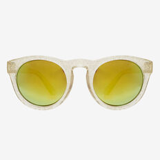 Gold Glitter Sunglasses  GOLD  hi-res