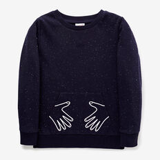 Hands Sweater  MIDNIGHT BLUE  hi-res