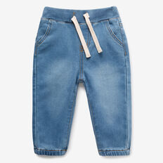 Easy Denim Terry Jean  SUMMER WASH  hi-res