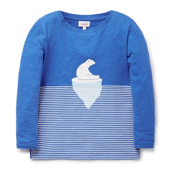 Polar Bear Tee  IGLOO BLUE  hi-res
