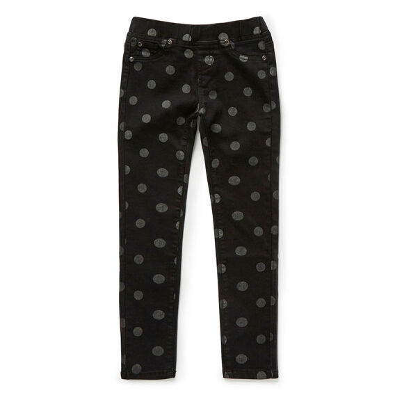 Spot Jegging  CHARCOAL  hi-res
