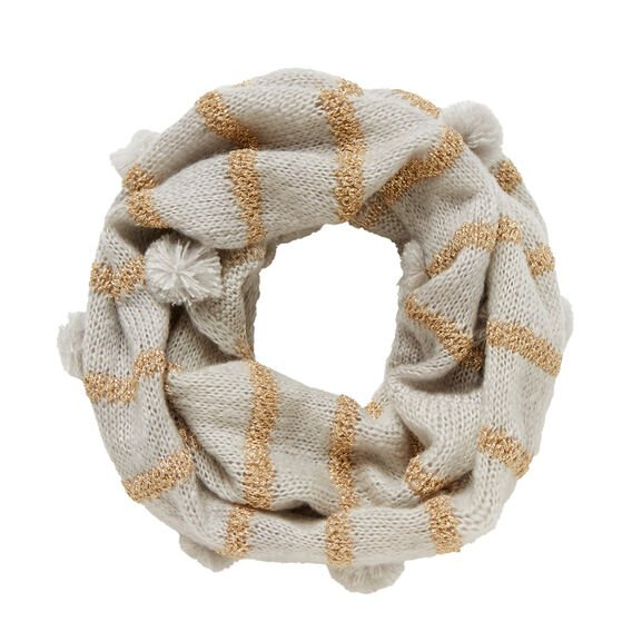 Gold Stripe Snood  MULTI  hi-res