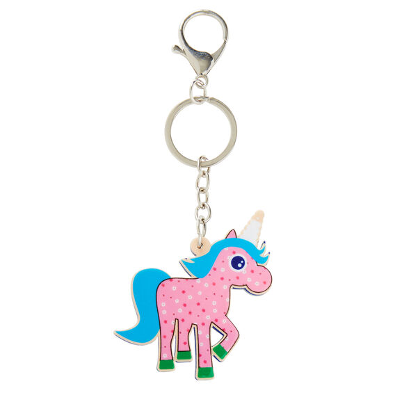 Unicorn Keyring  MULTI  hi-res