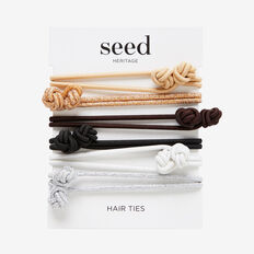 Knotted Hair Tie Pack  MULTI  hi-res