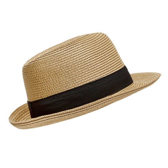 Trilby with Trim  NATURAL  hi-res