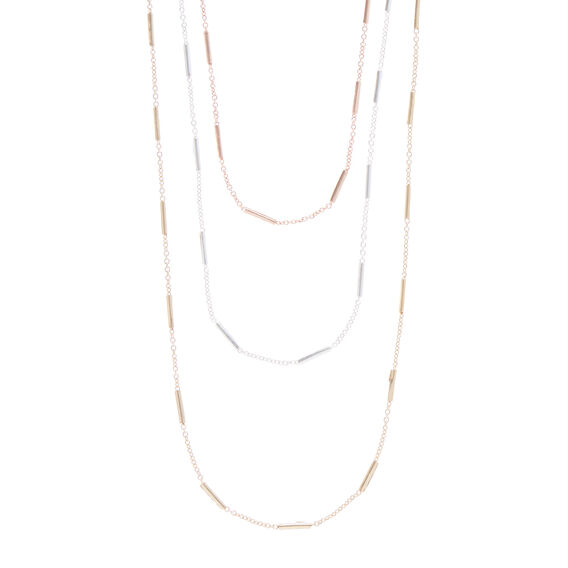 Trio Layer Necklace  MULTI  hi-res