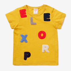 Explore Tee  SUMMER MUSTARD  hi-res