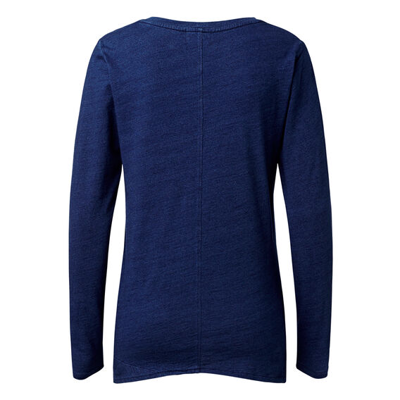 Knotted Indigo Sweater  INDIGO  hi-res
