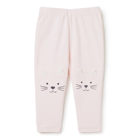 Cat Knee Legging  PASTEL PINK  hi-res