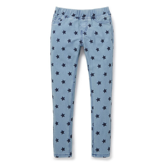 Star Stretch Pant  WASHED INDIGO  hi-res
