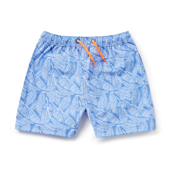Leaves Boardies  BERMUDA BLUE  hi-res