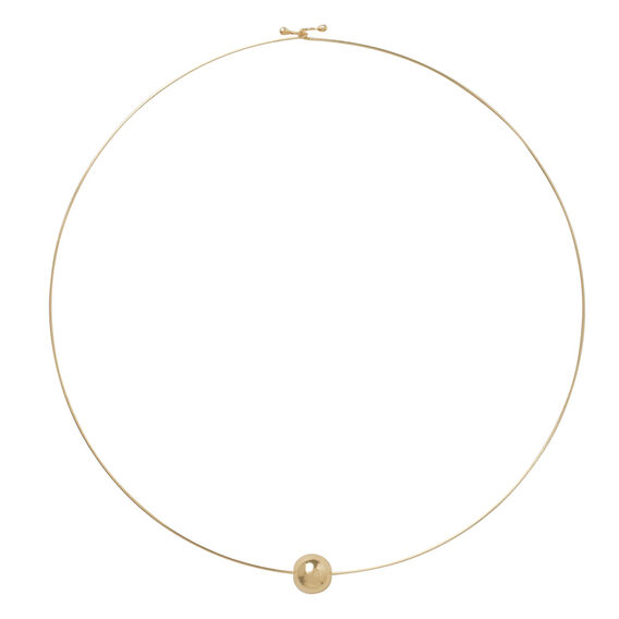 Fine Ball Necklace  GOLD  hi-res