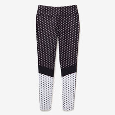 Spot Legging  BLACK  hi-res