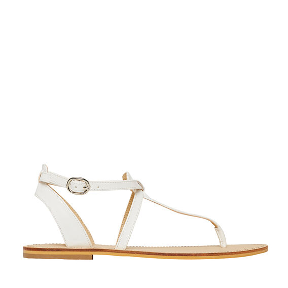 T-Bar Sandal  WHITE  hi-res