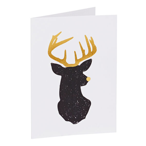 Greeting Card  REINDEER  hi-res