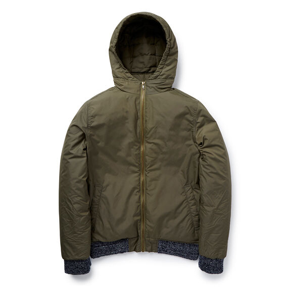 Hooded Bomber  KHAKI  hi-res
