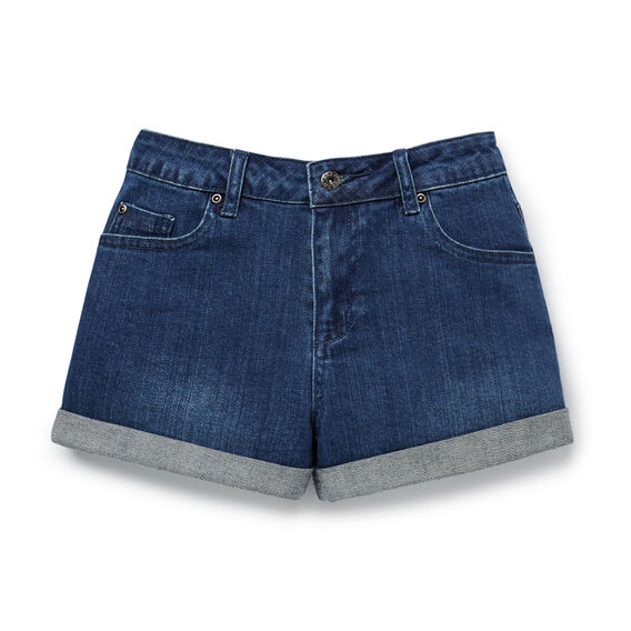 Denim Short  DEEP INDIGO DENIM  hi-res