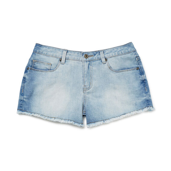 Frayed Denim Short  SUMMER WASH  hi-res