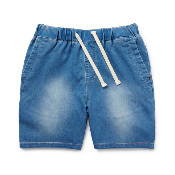 Denim Terry Short  LIGHT WASH  hi-res