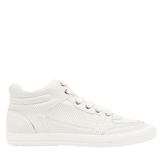 Perforated High Top  WHITE  hi-res