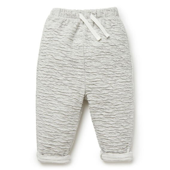 Double Knit Jersey Pant  FOG GREY MARLE  hi-res