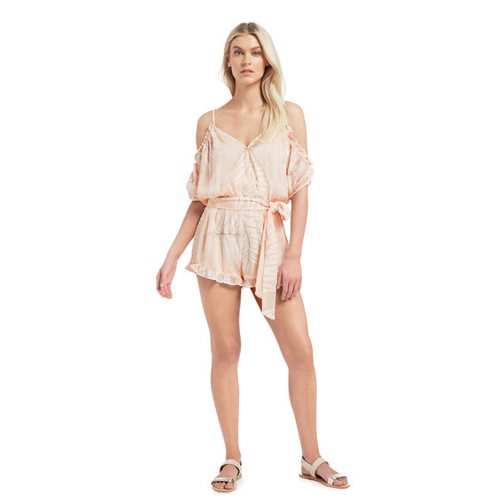 Embroidered Palm Jumpsuit  MULTI  hi-res