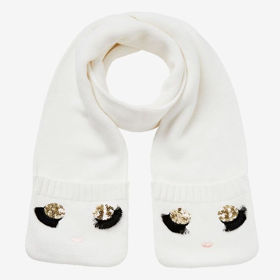 Doll Face Mitten Scarf  CANVAS  hi-res