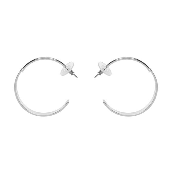 Abstract Hoops  SILVER  hi-res