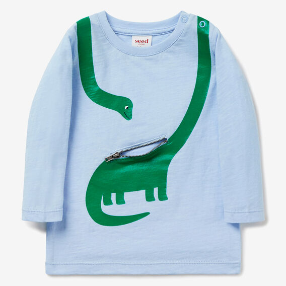 Dino Pocket Tee  PACIFIC BLUE  hi-res