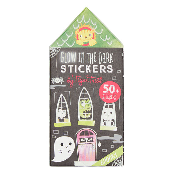 Glow In The Dark Stickers  SPOOKY  hi-res