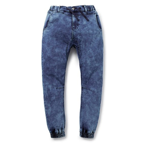 Denim Terry Pant  MID WASH  hi-res