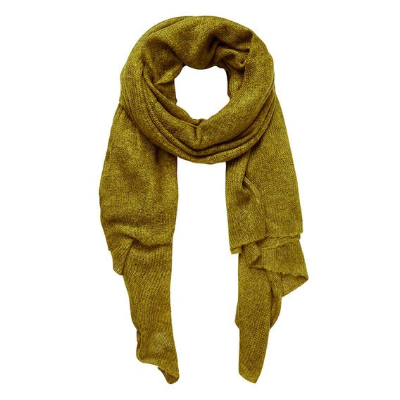 Simple Wrap Scarf  CHARTREUSE  hi-res