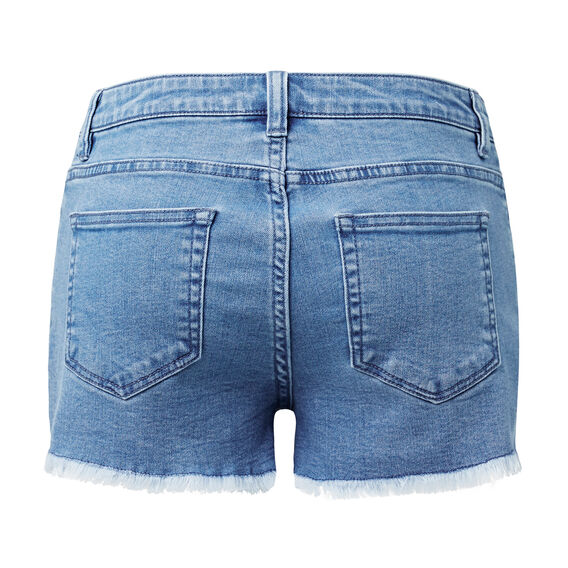 Denim Short  MID BLUE WASH  hi-res