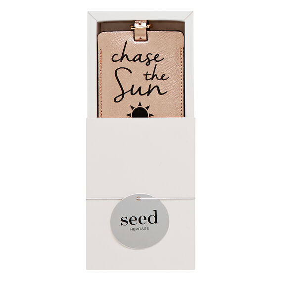 Gift Boxed Luggage Tag  ROSE GOLD  hi-res