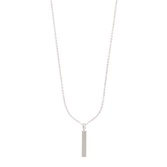 Bar Charm Necklace  SILVER  hi-res