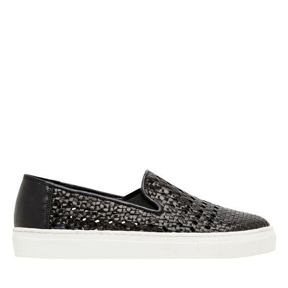 Geri Slip On Sneaker  BLACK  hi-res