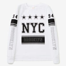 NYC Tee  SNOW WHITE  hi-res