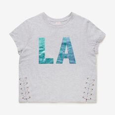Laced LA Tee  CLOUD  hi-res
