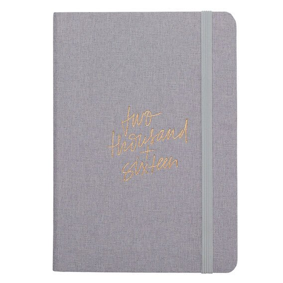 2016 A5 DIARY  GREY  hi-res
