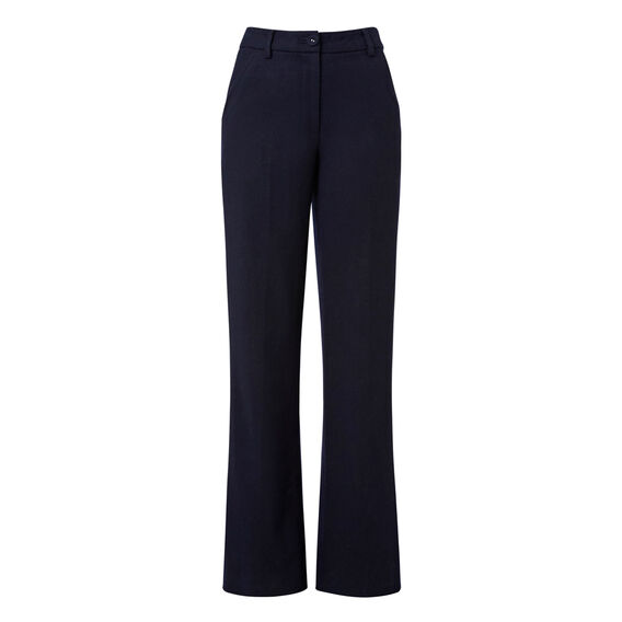 High Waist Flare Suit Pant  INK BLUE  hi-res
