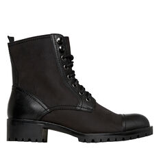 Lara Lace Up Boot  BLACK  hi-res
