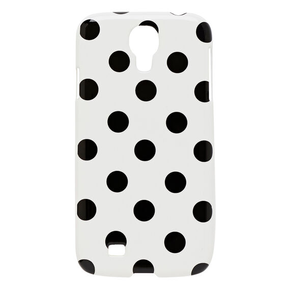 Printed Phone Case - S4  BLACK/WHITE  hi-res