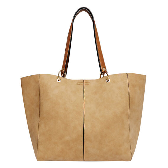 Delta Ring Tote  TAN  hi-res