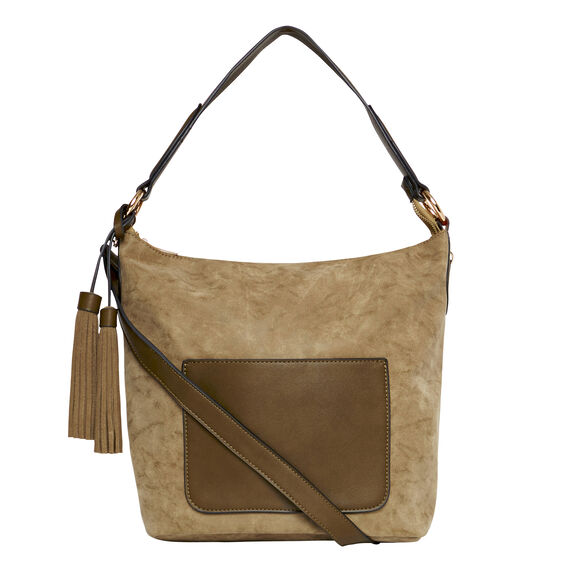 Bridie Tassel Bag  KHAKI  hi-res