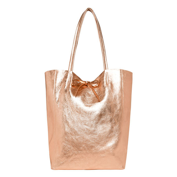 Leather Tote  ROSE  hi-res