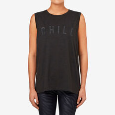 Chill Tank  WASHED BLACK  hi-res