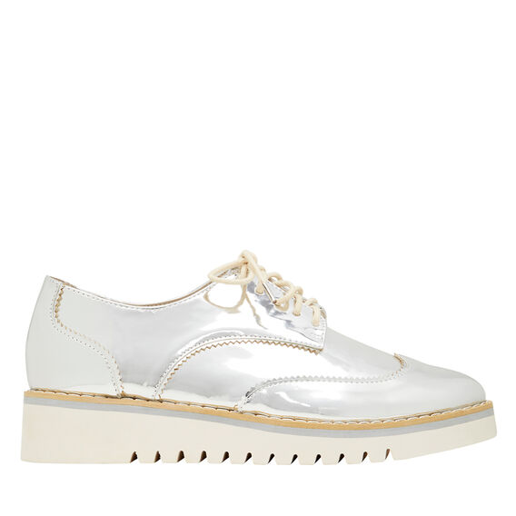 Harper Cleated Brogue  SILVER  hi-res